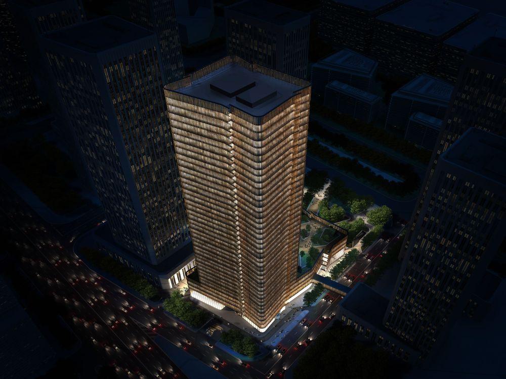 赫基国际大厦夜景鸟瞰图.jpg